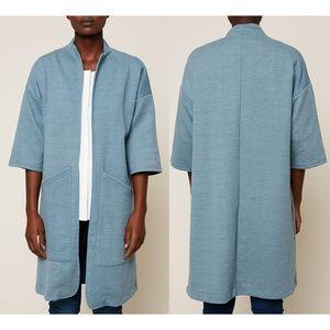 Numph Blue Cardigan Jacket